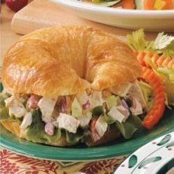 Turkey Salad Croissants