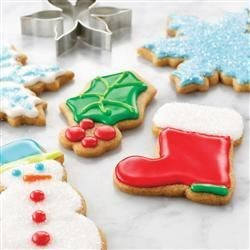 Spiced Holiday Sugar Cookies |