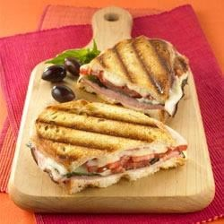 Simple Ham Panini Sandwiches Recipe