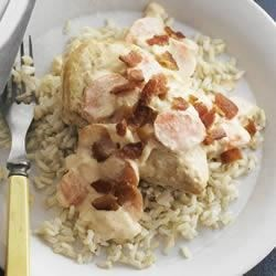 PHILLY Smothered Chicken with Brown Rice