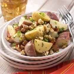 Photo of Herbed Walnut Potato Salad by California Walnut Board