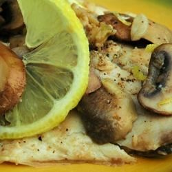 Photo of Zesty Tilapia with Mushrooms by BRYONYGP