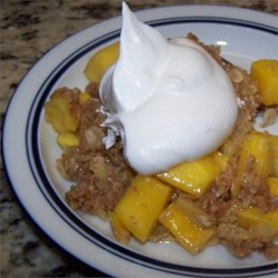 Mango Passion Fruit Crumble Recipe