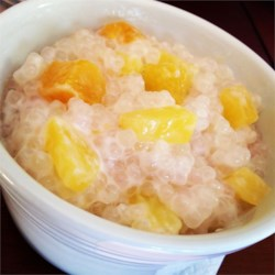 Cambodian Tapioca-Banana Pudding Recipe
