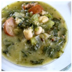 Creamy Italian White Bean Soup By : colleenlora