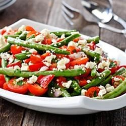 Greek Green Bean Salad Recipe
