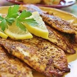Cajun Style Blackened Snapper Recipe