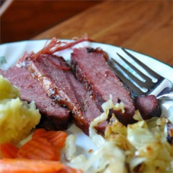 Braised Corned Beef Brisket