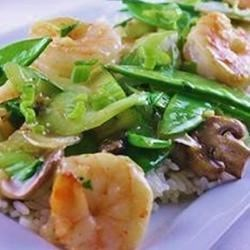 Photo of Stir-Fried Shrimp with Snow Peas and Ginger by CCSWALLA