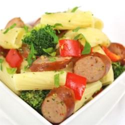 Johnsonville(R) Three Cheese Italian Style Chicken Sausage and Broccoli Rigatoni