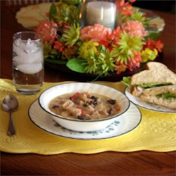 Chicken, Fennel and Mushroom Soup Recipe