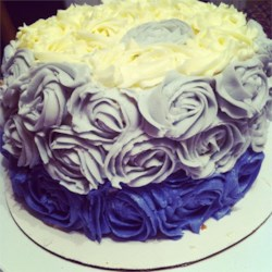 Vanilla Rose Cake!