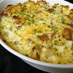 Photo of Cheesy Scalloped Potatoes with Ham by Gai Boyd