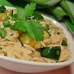 Zucchini Orzo Recipe