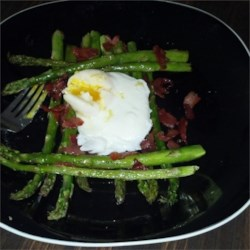 Roasted Asparagus Prosciutto and Egg Recipe