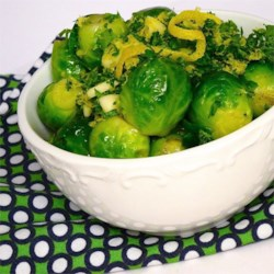Brussels Sprouts with Gremolata  Recipe