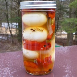 Garlic Pickled Eggs Recipe