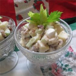 Date-Marshmallow Waldorf Salad