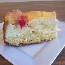 Pineapple & Cream Cheese Upside Down Cake/Dole recipe