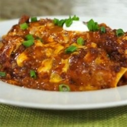 Cheesy Chili Enchiladas