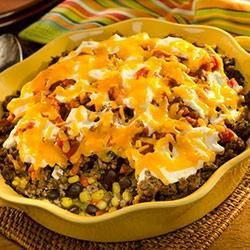 Mexican Beef and Corn Casserole from Country Crock(R) Recipe