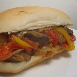 Italian Sausage, Pepper, and Onion Medley