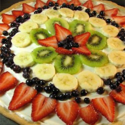Fruit Pizza Even Better Recipe