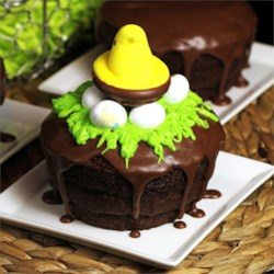 Chocolate Easter Basket Frosting