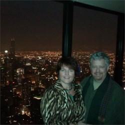 Gabriella and Jack at the Hancock 95th