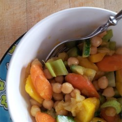 South Indian Chickpea Salad Recipe