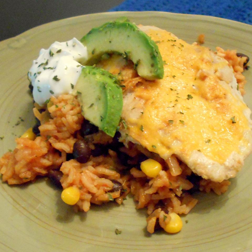 Santa Fe Chicken and Rice