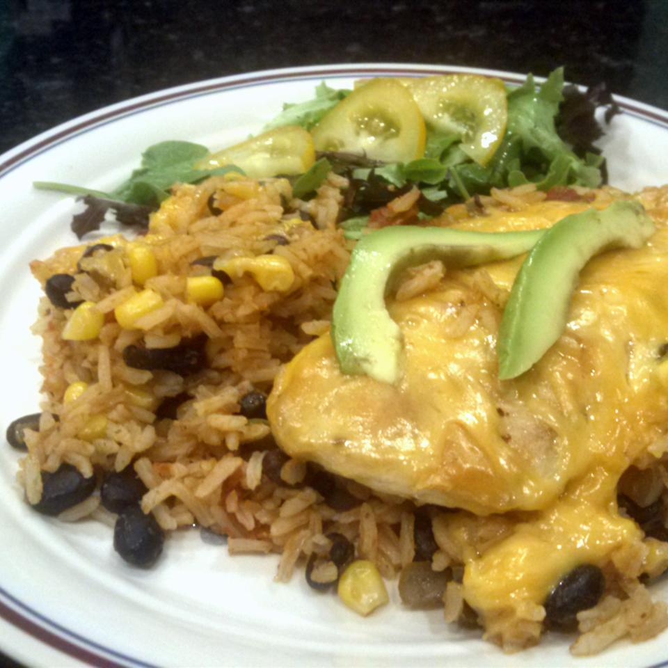 Santa Fe Chicken and Rice Qhhunters