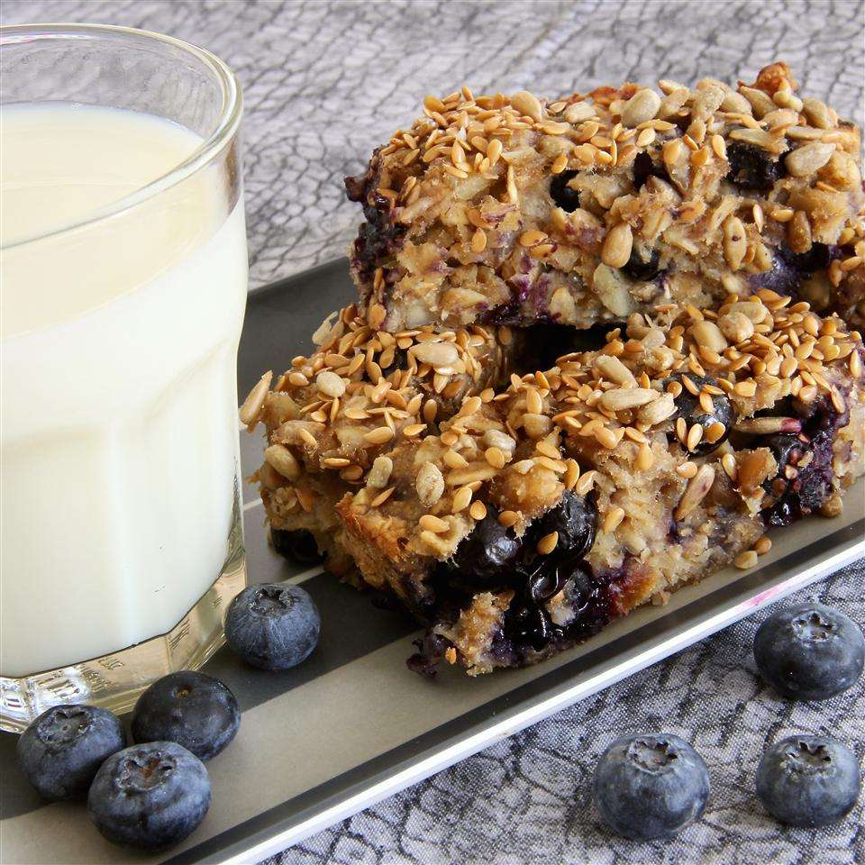 Blueberry Banana Breakfast Bars qwerty06