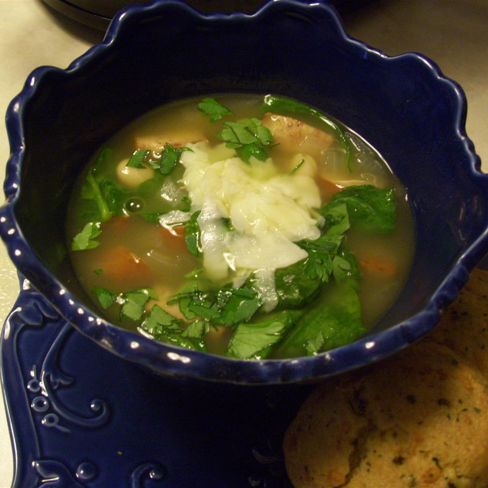 Tuscan White Bean Soup from Swanson(R) Blessed Baker