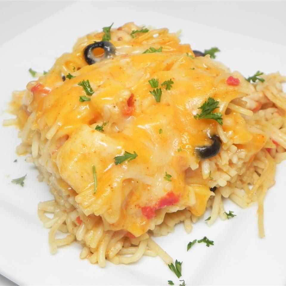 Easy Mexican Chicken Spaghetti KLSTEVE