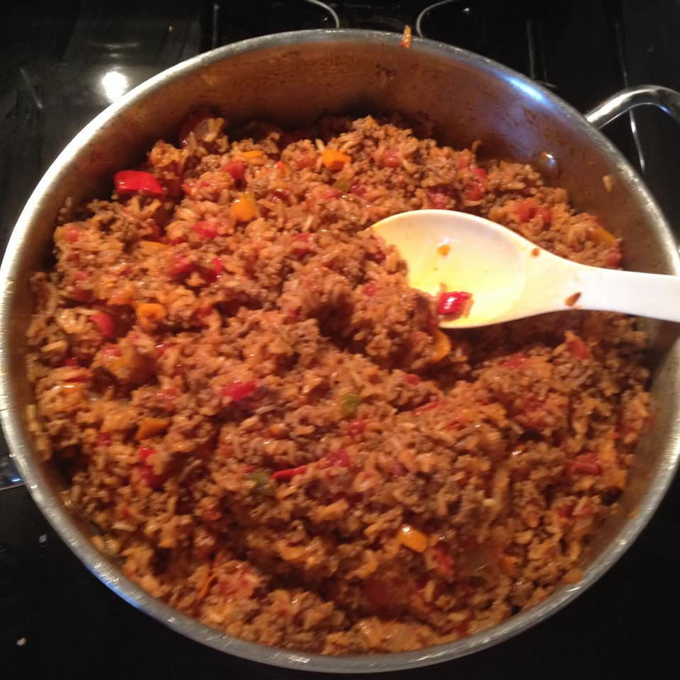 Spicy American Spanish Rice