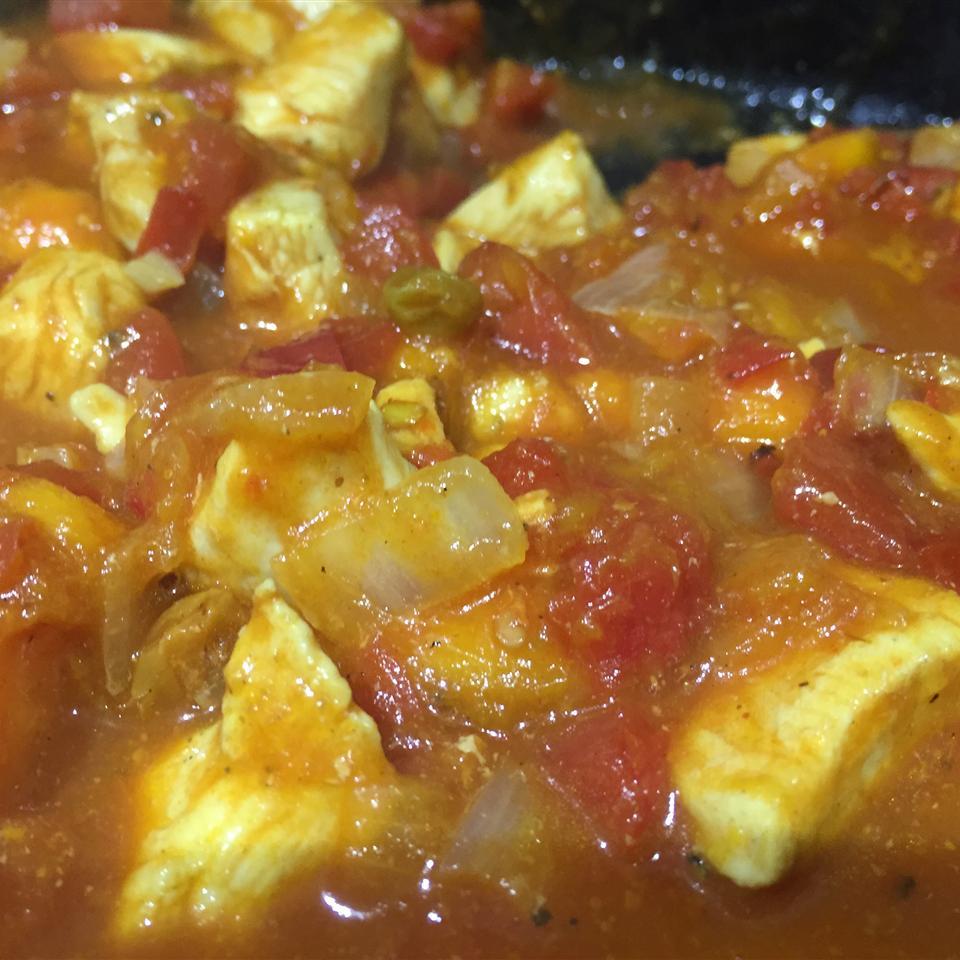 Curried Mango Chicken nadiajc
