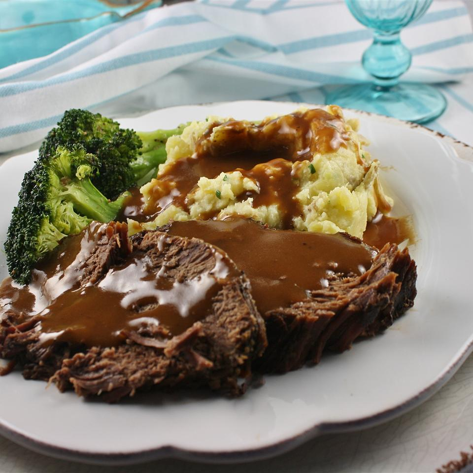 Slow Cooker Pot Roast with Malbec (Red Wine) - Printer Friendly