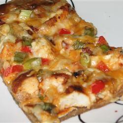 Gourmet Chicken Pizza Raquel Teixeira