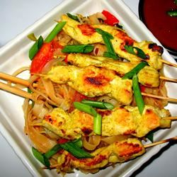 Thai Chicken Satay PAMELA D. aPROpos of nothing
