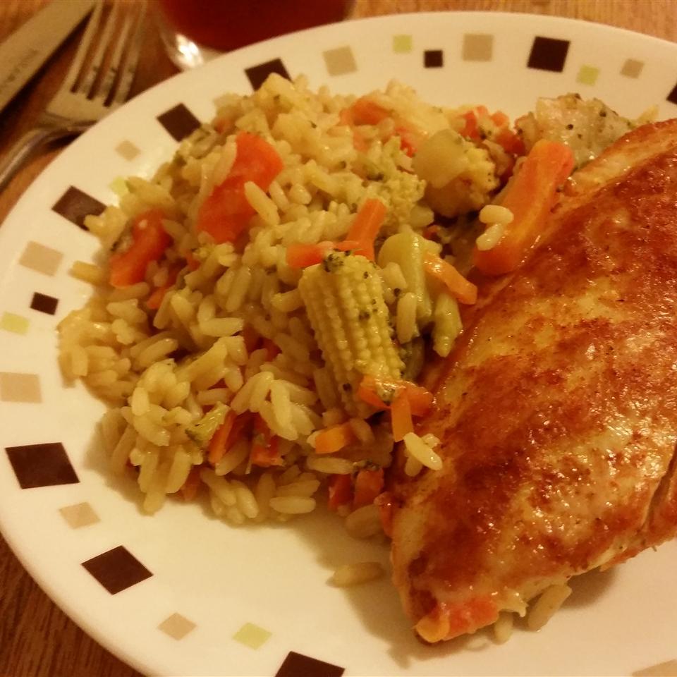 Skillet Garlic Chicken Dinner Rachel Riley