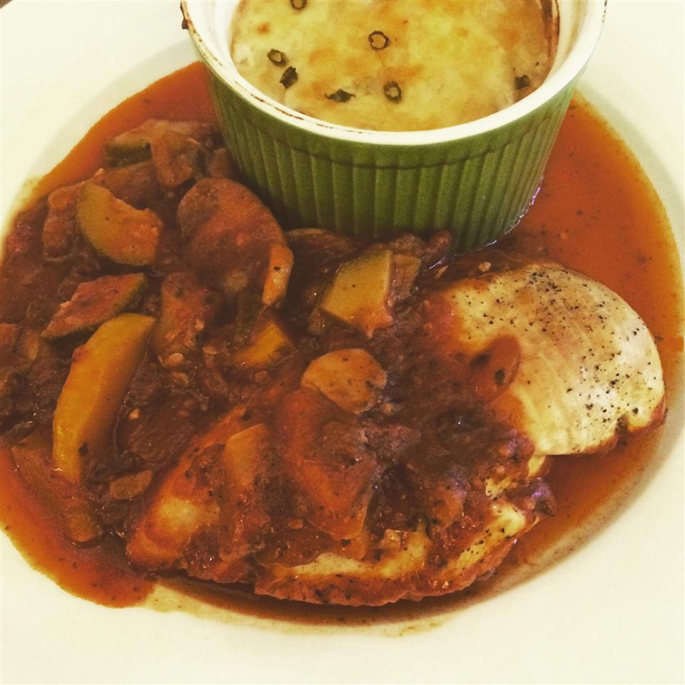 Carla's Veggie-Loaded Chicken Cacciatore Italian-DeLish