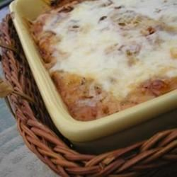 Quick Bruschetta Chicken Bake