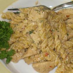 Chicken Rotini Stovetop Casserole