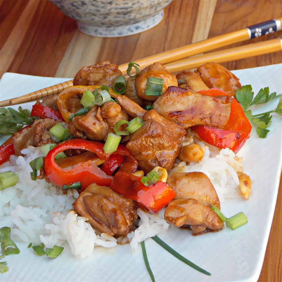 Spicy Caramel Chicken