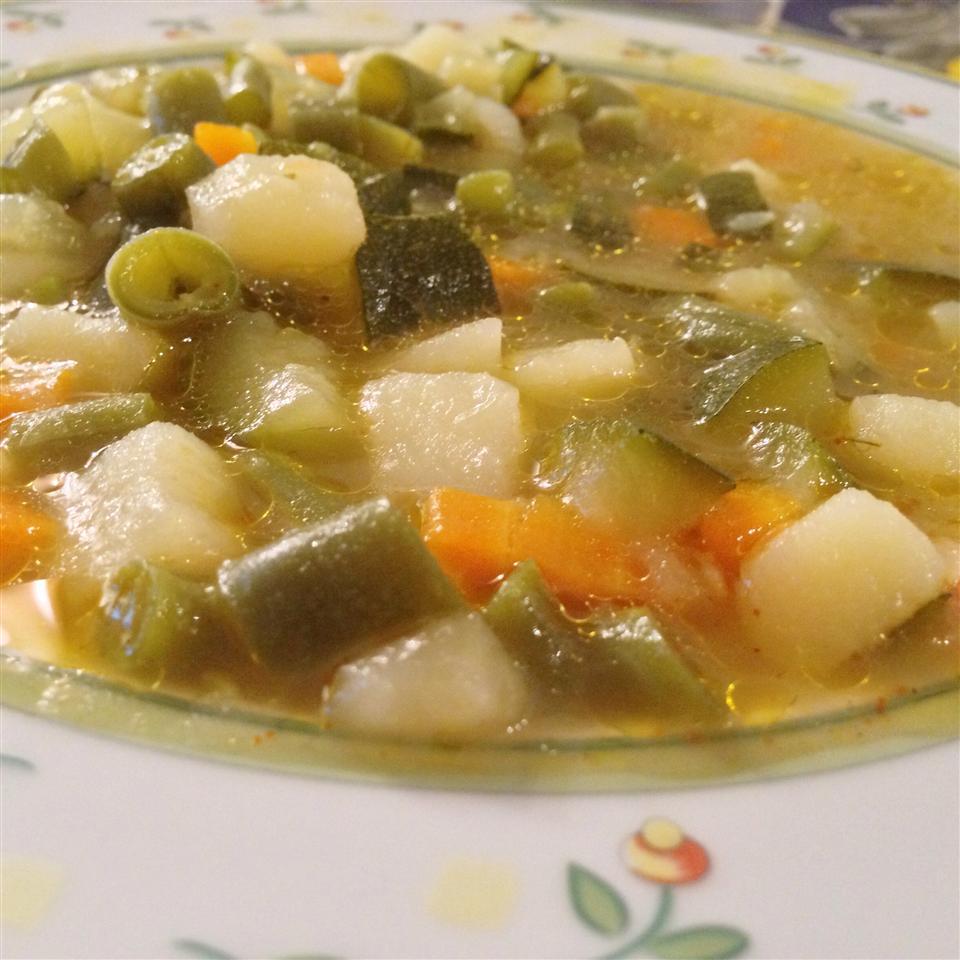Absolutely Wonderful Chicken Vegetable Soup Pamela Merrell