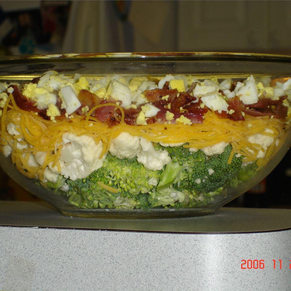 Broccoli-Cauliflower Salad MOLLE888