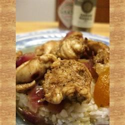 Evin's Indian Apricot Chicken
