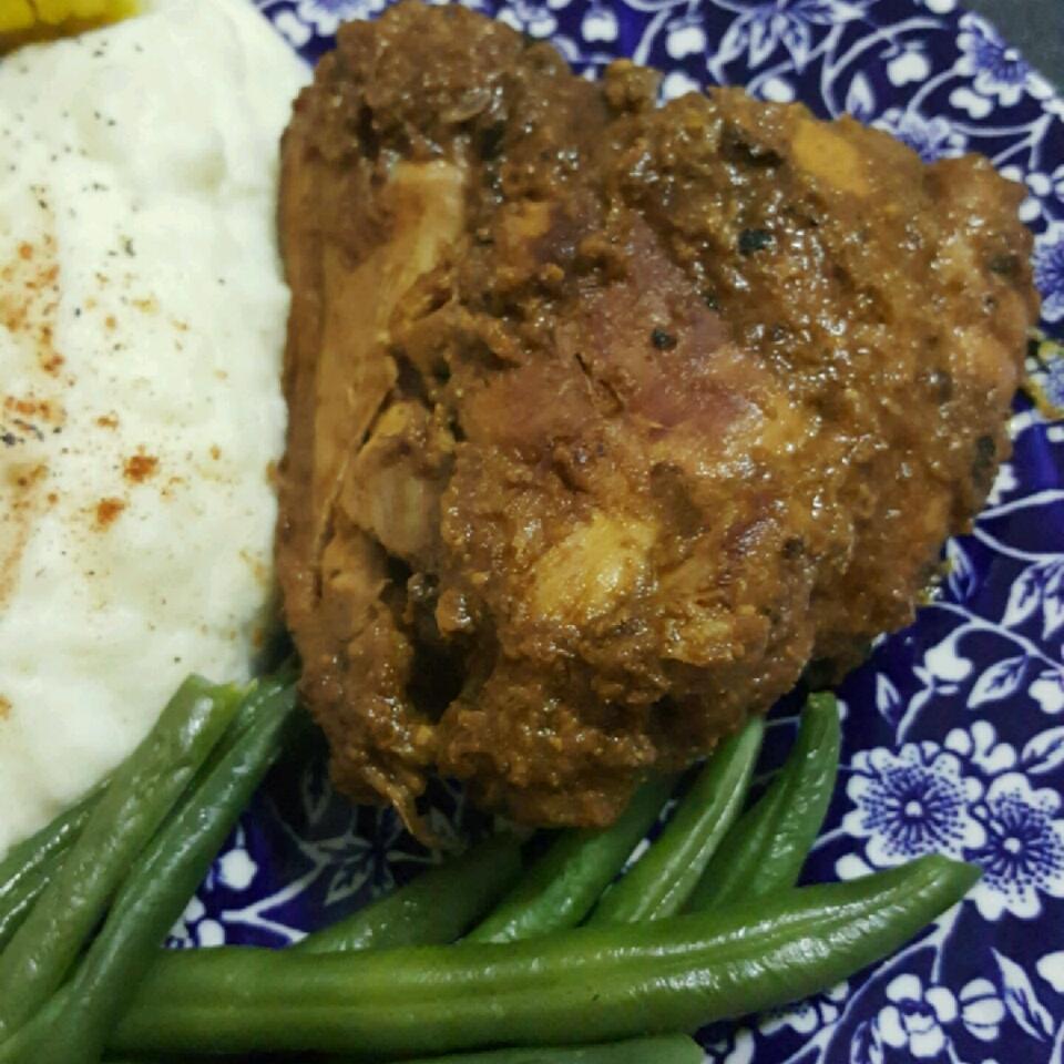 Cilantro Garlic Chicken