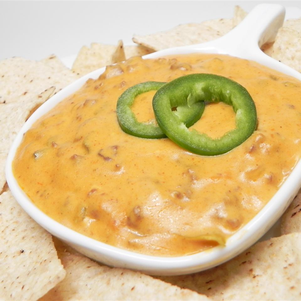 Mexican Cheese and Hamburger Dip